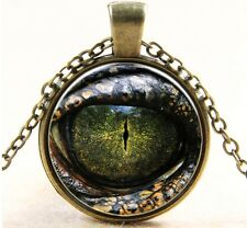 Pendentif Collier oeil  Dragon Eye 3D Impression Realistic