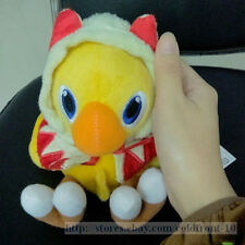 "7'' Final Fantasy VII Figure Chocobo "" White Mage "" Soft Plush Doll Toy  Gift"