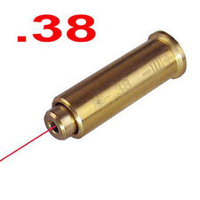 1Pcs Cal 38 Laser Bore Sighter Cartridge Collimator Red Dot Laser Sight
