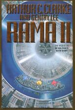 Rama II by Arthur C. Clarke & Gentry Lee-First Edition/DJ-1989
