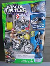 NEW Mego BloksTeenage Mutant Ninja Turtles Out of the Shadows Bebop Moto Attack