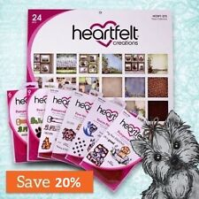 Heartfelt Creations PAMPERED POOCH Collection Paper Dies Stamps Set BUNDLE Lot