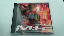 "ORIGINAL SOUNDTRACK ""MISSION IMPOSSIBLE 2"" CD 16 TRACKS BANDA SONORA BSO OST"