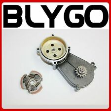 14T Clutch Drum Housing Gear Box + Clutch 47 49cc Mini Pocket Quad Dirt Bike ATV