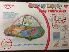 Baby Play Mat Gym Soft Activity Musical Play mat Kids Toys Gym Cartoon Plane