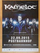 KAMELOT 2015 BERLIN  -  orig.Concert-Konzert-Poster-Plakat NEU