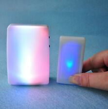 7 Color Light Flash 16 song 3 mode music  Wireless Doorbell for The Deaf/Old men
