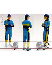1/24 ALONSO TRULLY R23 R24 DRIVER FIGURE for REVELL HOT