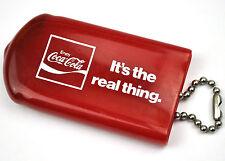 Coca-Cola Coke USA 1970er Schlüsselanhänger Schlüssel Etui Tasche Key Chain Case