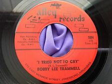 Mad Mike Rocker 45 : Bobby Lee Trammell ~ Come On Baby ~ Alley 1004 Arkansas