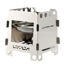 Portable Wood Stove Solidified Alcohol Stove Outdoor Cooking Picnic Camping G4G5