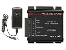 RDL FP-PA18 18 W Audio Power Amplifier with Power Supply