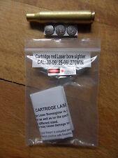 CARTUCCIA LASER COLLIMATORE CAL 30-06 270 WIN Laser Bore Sight BoreSighter