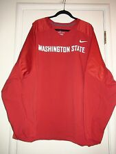 Washington State Nike 581658 Mens Wind Breaker Jacket Pullover Red Cougars 3XL