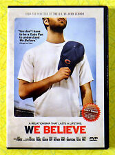 We Believe ~ New DVD Movie  Chicago Cubs World Series Baseball 2010 Sealed Video