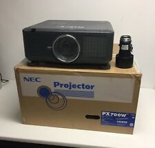NEC PX700W WXGA HD DLP Professional 7000 ANSI Lumen DLP Projector w/ Lens