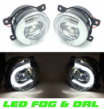 Ford Fiesta Mk7 & Van 10/2008-2012 Front LED fog lamps & DRL pair left & right O
