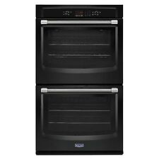 """Maytag MEW7630DE 30"""" Electric Double Wall Oven with Sabbath Mode Black"""
