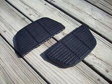 Original ISO Harley Davidson OEM Passenger Footboard Pads Inserts Set (2)