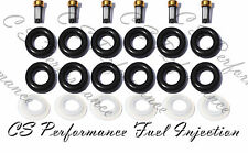 4.0 Ford V6 Fuel Injector Repair Rebuild Service Kit ORings Filters Caps CSKBO36