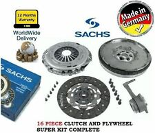 FOR VW TOURAN PASSAT GOLF JETTA CADDY 2.0 TD NEW DUAL MASS FLYWHEEL & CLUTCH KIT