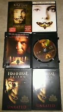 Red Dragon Collector's Ed., Silence of the Lambs Collector's Ed, Hannibal Rising
