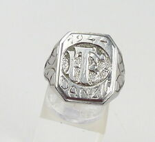 orginal alter Ring  Danzig 1944 mit Monogramm 2. WK, Gr. 65/Ø 20,7 mm  (da4598)
