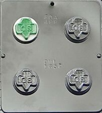 Girl Scout Chocolate Oreo Cookie Mold  1657 NEW