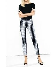 Express New Striped Low Rise Sailor Pants Size 0R New Stylish