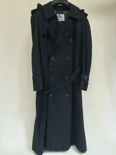 Vintage (No sign of wear) Burberrys Navy Blue Double Breasted Trench Coat