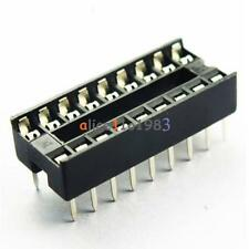 10PCS Socket Pcb Mount Connector 18-Pin Dil Dip Develope Ic New