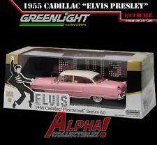 GREENLIGHT 86491 1:43 ELVIS PRESLEY 1955 CADILLAC FLEETWOOD SERIES 60 PINK