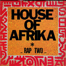 HOUSE OF AFRIKA - RAP TWO - CD MAXI 1989