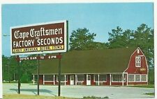 Cape Craft Pine of Virginia Inc. Factory Seconds Norge, Virginia post card