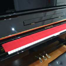 Piano Key Cover - Red Felt - Keyboard Cover