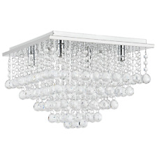 Extravagant LuxPro LED Crystal Ceiling Lamp Ceiling light 4 x G9 SMD Chandelier