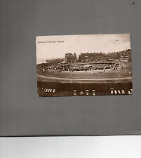Real photo card Margate Kent The oval Cliftonville posted 1912