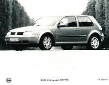 2000 VW Volkswagen Golf GTI Original Car Product Guide Brochure like and Photo