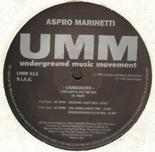 ASPRO MARINETTI - Carbonized (You Gotta Put Me On) - UMM