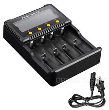 Fenix ARE-C2 Plus 4 Channel Digital Multi-Charger -18650 16340 14500 AA AAA C