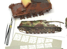 DN Models 1/35 Paint Mask WWII German Disc Camo Ambush (different size roundels)
