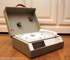 Refurbished! BRAUN PC3 SV Portable Turntable Record Player by D. Rams Suitcase