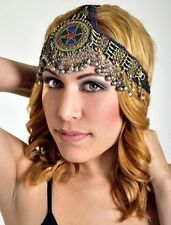 ETHNIC TRIBAL GYPSY BELLY DANCER Womens HEADBAND HEAD PIECE Hair Accessory New