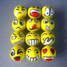 Funny Smiley Face Squeeze Anti Stress Reliever Ball ADHD Autism Mood Toy Relief