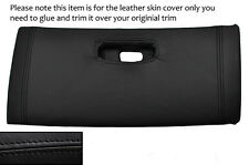 BLACK STITCH TOP DASH GLOVE BOX LID LEATHER COVER FITS TOYOTA SUPRA MK4 93-02
