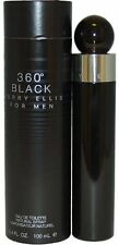 360 BLACK for Men by Perry Ellis Cologne 3.4 oz edt Spray NEW in BOX