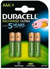 Duracell Recharge Ultra AAA x 4 - 850mAh/1.2V - LR03