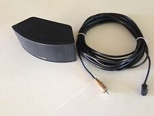 BOSE HORIZONTAL CUBE JEWEL SPEAKER BLACK WITH ORIGINAL CABLE IN MINT COND NICE