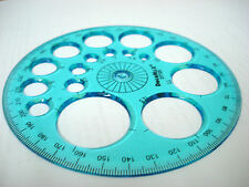 Paper Quilling Stencil Template Precise Round Circle Shape As Measurement Tool
