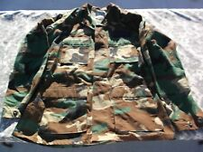 Special Forces BDU Woodland Camouflage Hot Weather Coat Medium-Long 140035